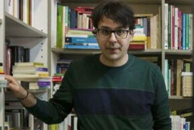 """Mohamed El Morabet, autor de la novela """"Un solar abandonado"""", en la feria del libro de Almería"""