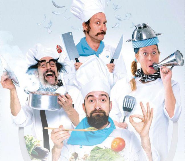 La comedia teatral 'Chefs' estará en el Centro Cultural de Adra