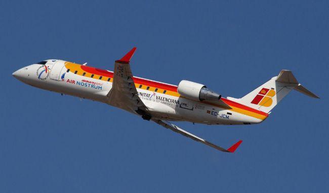 Air Nostrum inicia los vuelos que uneN Melilla con Almería, Granada y Sevilla