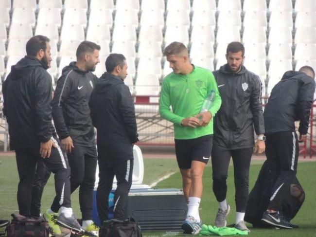 El Almería trabaja a puerta cerrada cómo poder sorprender al Lugo el domingo