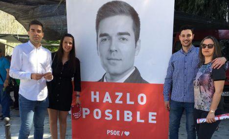 """El PSOE trabajará para """"garantizar el futuro"""" de Macael"""