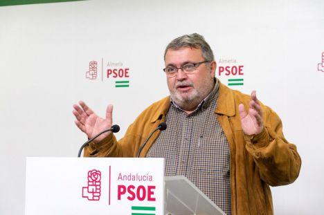 """El PSOE promete acabar con el """"abandono"""" de Gabriel Amat hacia Aguadulce"""