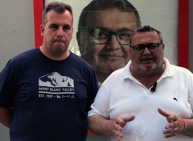 Manolo García promete impulsar el comercio local en Roquetas