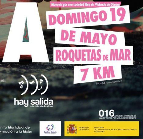El CMIM organiza la III Marcha de la Mujer en Roquetas