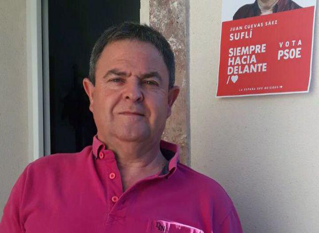 Tras 20 años de aclalde de Suflí, Juan Cuevas quiere volver para darle un impulso
