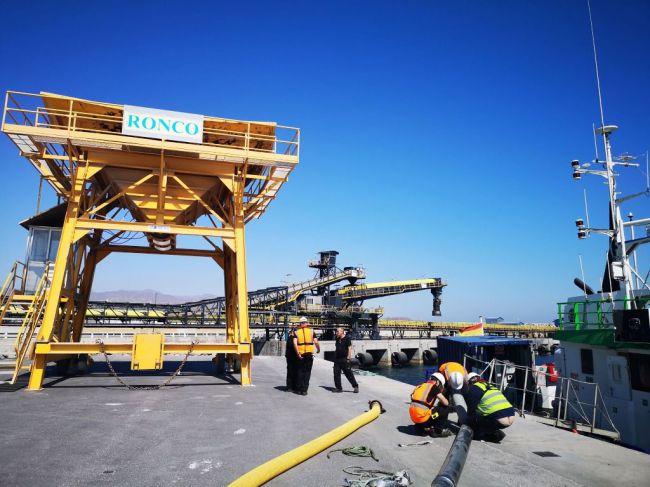 Carboneras como puerto para el paso del hierro de Alquife llega a pleno