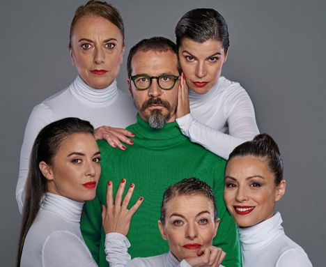 Fele Martínez protagoniza en el Festival de Teatro de El Ejido 'Todas las mujeres'
