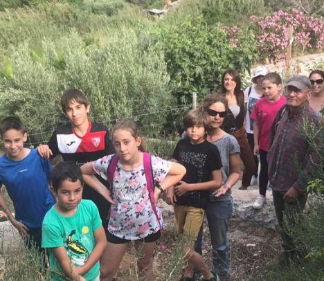 Gincana En Familia Cerró Dos Meses De Actividades Mediambientales en Vícar