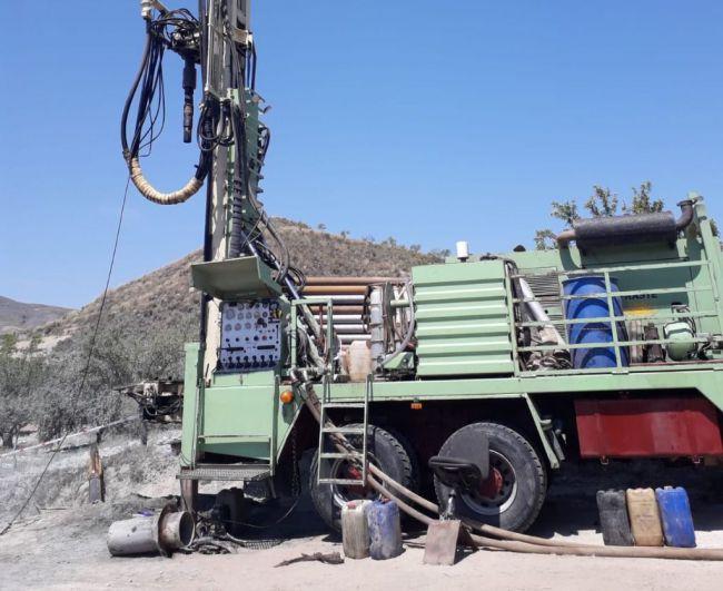 Diputación garantiza el agua en Lubrín con un nuevo sondeo en Rambla Aljibe