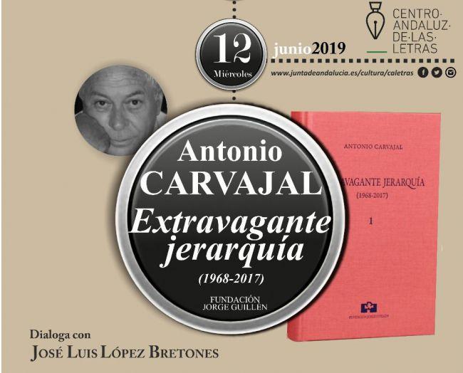 El CAL presenta en Almería la poesía completa de Antonio Carvajal
