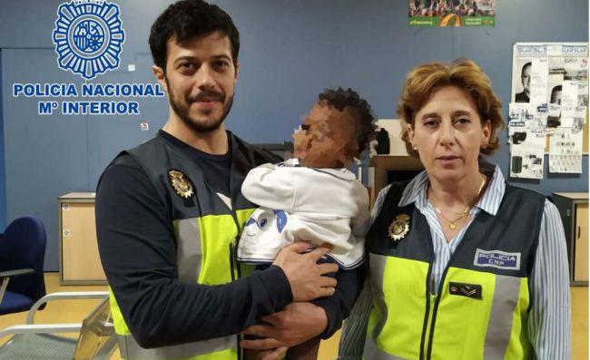 La Policía Nacional logra reagrupar a un menor con su abuela en Rumanía