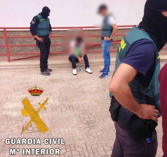 La Guardia Civil detiene en Balerma al líder de una organización belga del tráfico de drogas