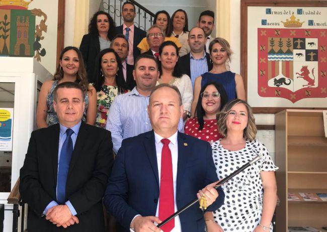 Antonio Fernández Liria, investido alcalde de Cuevas