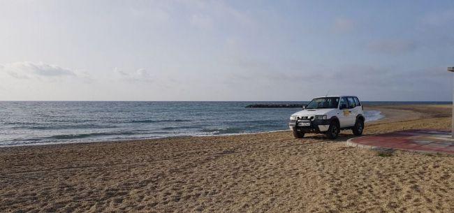 Rescatan el cadáver de una mujer desaparecida desde mediodía en una playa de Pulpí