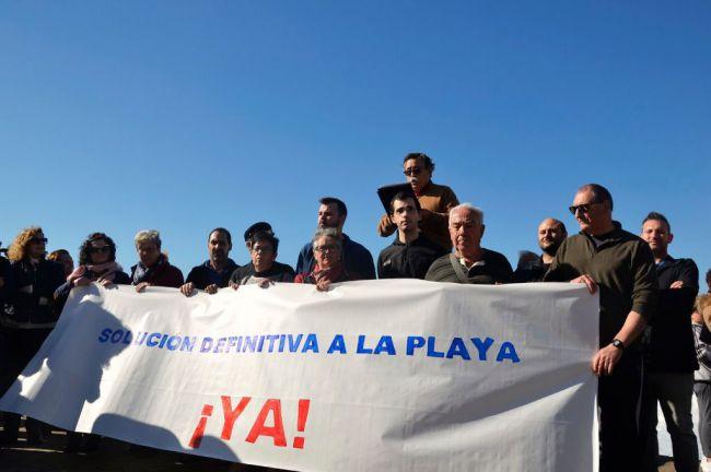 Las obras de emergencia en la playa de Balerma comenzarán en una semana