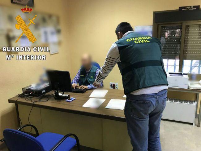 La Guardia Civil detiene a dos personas por el hurto de dos televisores