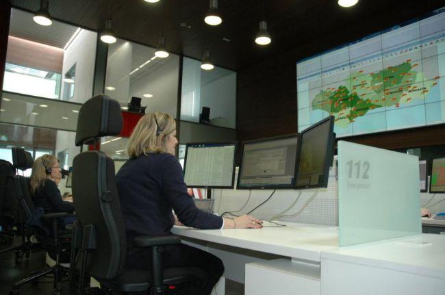 El 112 gestiona 714 emergencias en el Corpus