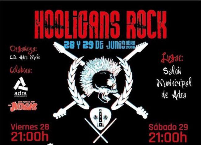 Este viernes llega a Adra el 'Hooligans Rock'