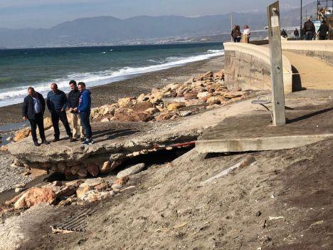PSOE y AA rechazan espigones de protección en Balerma y Guardias Vieja