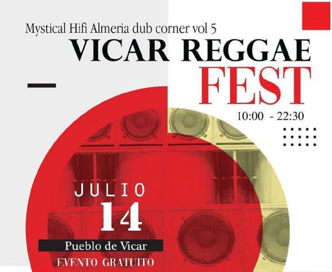 El 'Vícar Reggae Fest' Se Celebra El Domingo