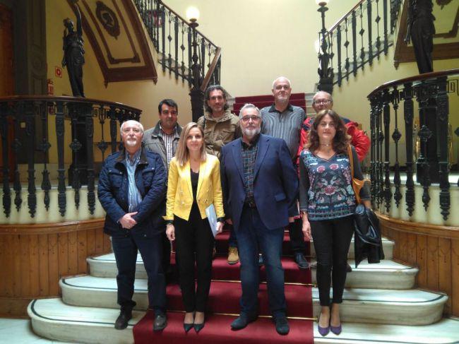 La Mesa del Ferrocarril pide el apoyo de Moreno frente al Gobierno central