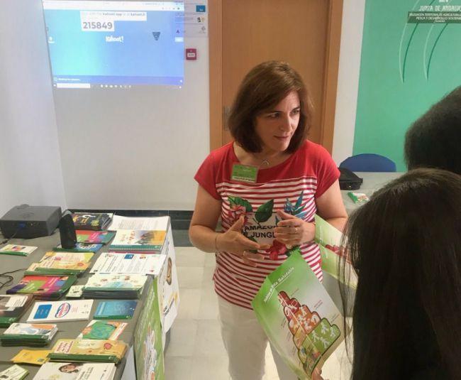 El Área de Gestión Sanitaria Norte de Almería en la I Feria de Empleo Juvenil