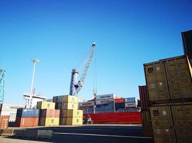 El 60% de las exportaciones de Almería salen por vía marítima