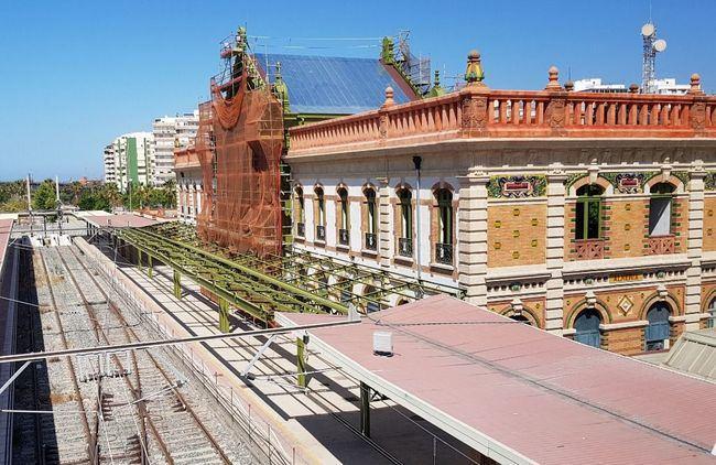 Adif y Fomento ocultan al Ayuntamiento la paralización de las obras de la antigua Estación