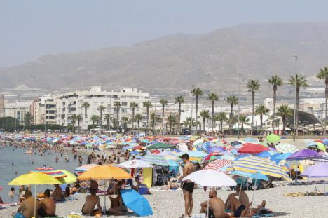 Almería en alerta amarilla por altas temperaturas