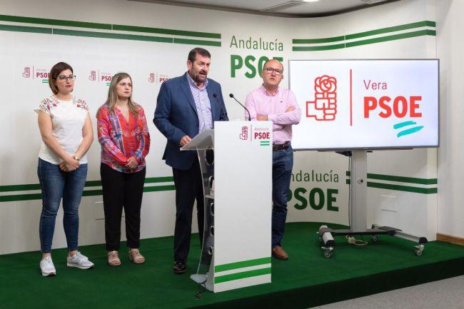 El PSOE de Vera considera 'injustificado' duplicar el gasto en sueldos del equipo de gobierno