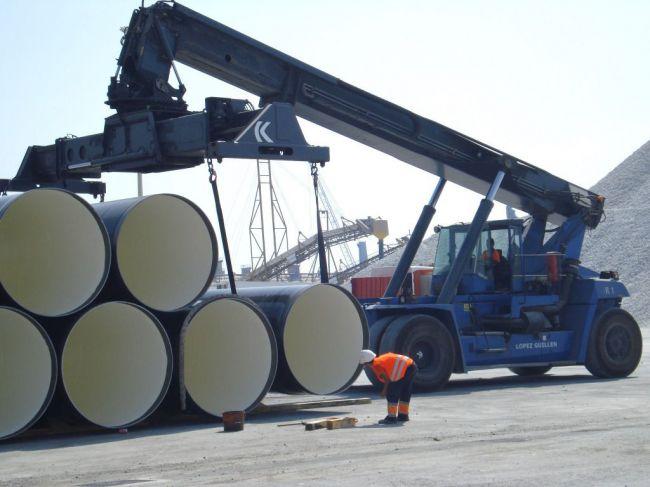 El puerto de Almería incrementa un 129% las exportaciones