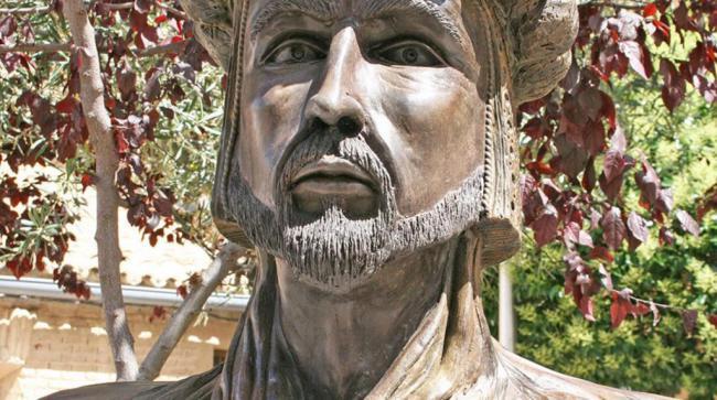 Vox retira el busto del fundador de Almería