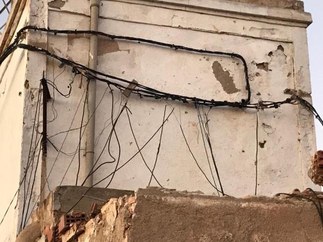 Enganche eléctrico ilegal provocó el incendio en el poblado chabolista de Nijar