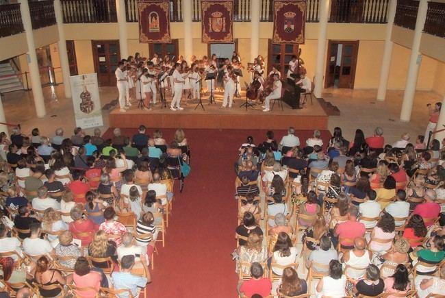 Gran concierto de la Joven Orquesta Barroca de Roquetas