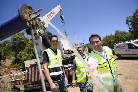 Diputación garantiza el agua en Paterna del Río durante los 12 meses del año