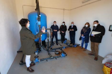 Diputación garantiza agua de calidad en Las Alcubillas y La Estación con una potabilizadora