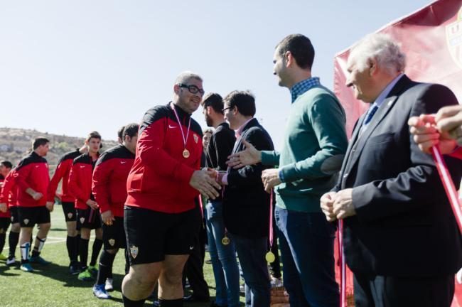 La I Jornada de Fútbol Adaptado se celebra con éxito
