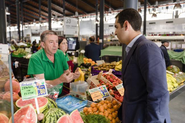 El Ayuntamiento abre la concesión de 92 puestos en los mercados de abastos municipales