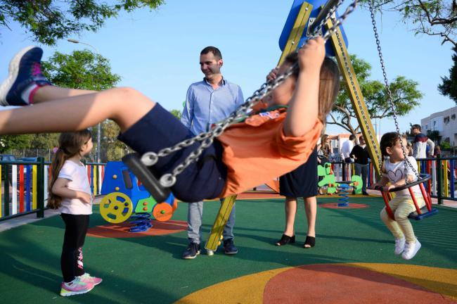 Villa María estrena zona de juegos infantiles y son más de doscientas en toda Almería