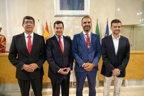 Los líderes andaluces de PP, Ciudadanos e IU acuden a Los Coloraos