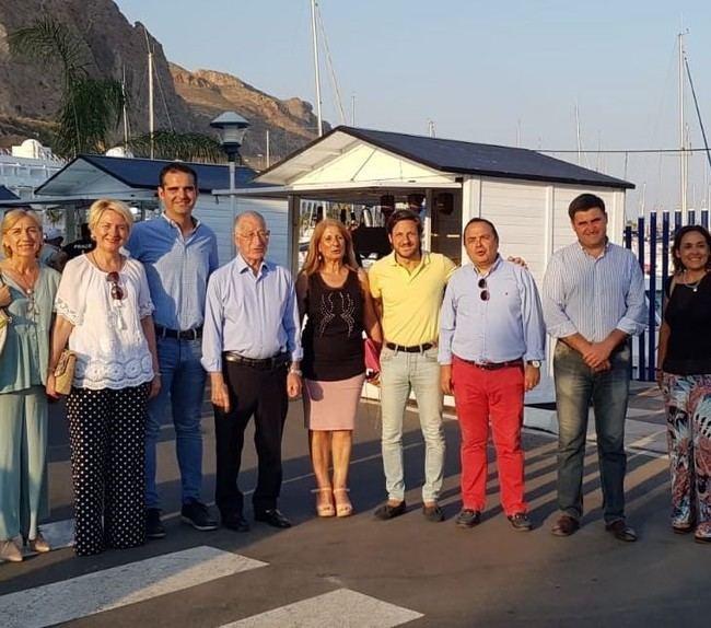 Los alcaldes de Almería y Roquetas visitan el Mercado del Mar