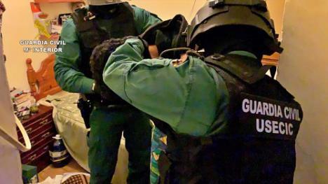 Desarticulada una banda dedicada a robos en viviendas en el levante de Almería