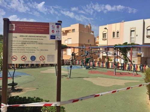 Almería inicia la apertura de parques infantiles tras bajar a nivel 3