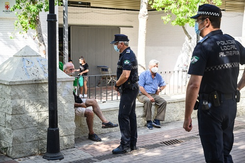 La 'no Feria' de Almería deja 550 multas por incumplir la normativa #COVID19
