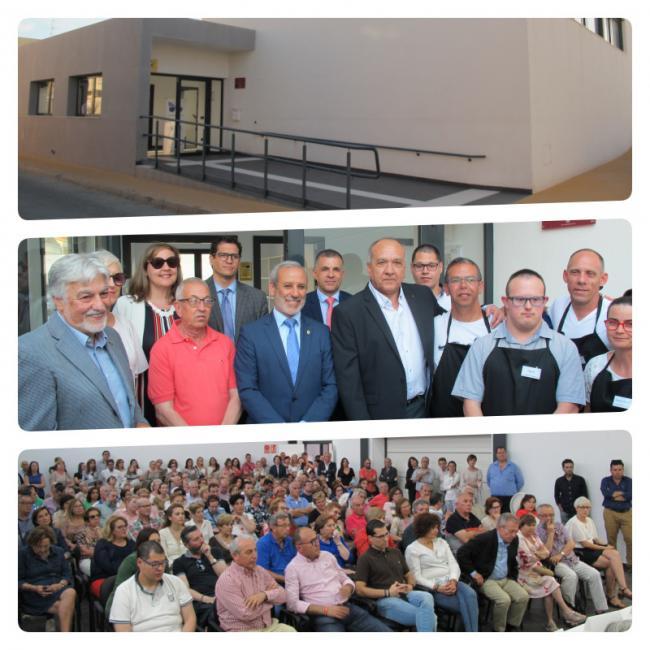 ASPRODALBA inaugura una residencia y un centro formativo en Vera