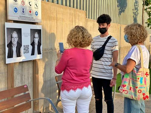 Buena Acogida A La Exposición Con Testimonios Sobre La Vivencia en Pandemia En Vícar