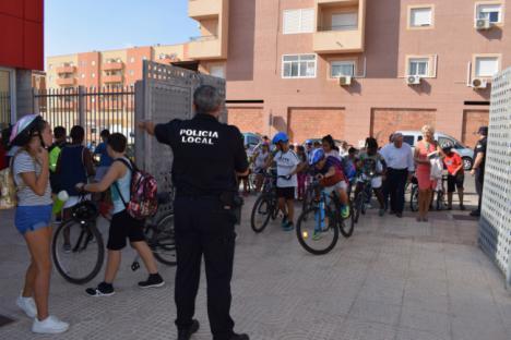 Charlas En Los Dos IES En La Semana Europea De La Movilidad En Vícar