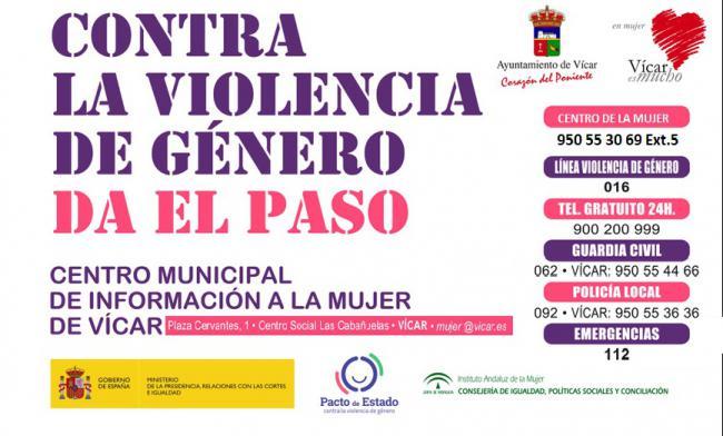 El CMIM De Vícar Desarrolla Talleres Para Mujeres Víctimas De Violencia De Género