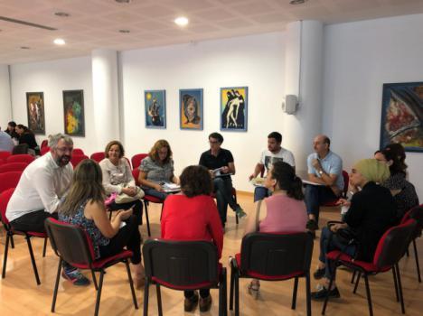 Los Grupos De Trabajo Comienzan La Elaboración Del Plan Local ERACIS - Vícar