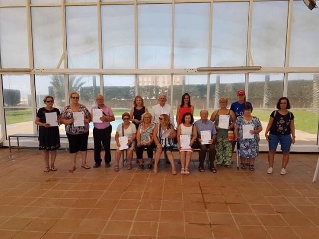 Acaban Los Cursos De Verano De Natación En La Piscina De Cabañuelas
